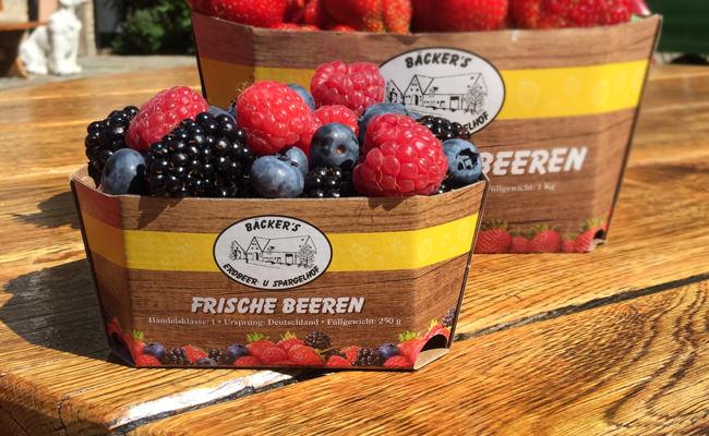 Frische Beeren aus Münster