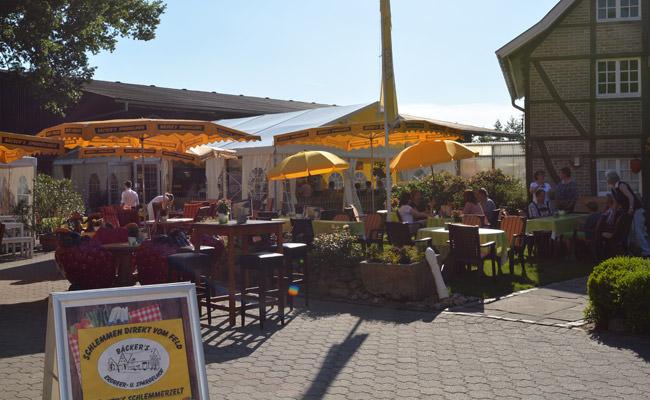 Spargelessen bei Bäcker's in Münster